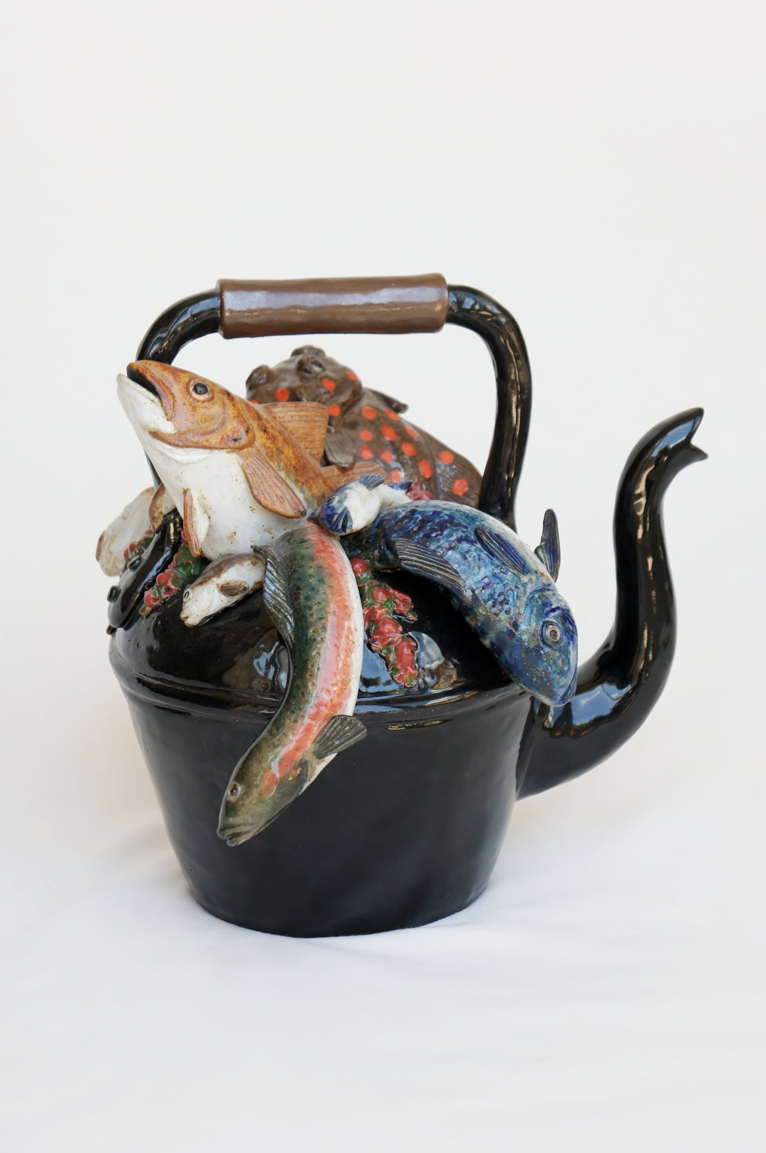 Kettle Of Fish ~ A kettle of fish pippa hill animal sculpture