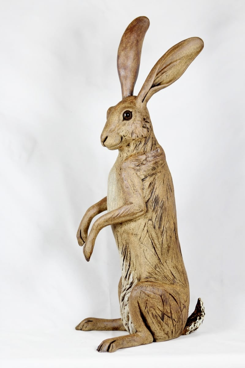 how to make a jack rabbit out of clay