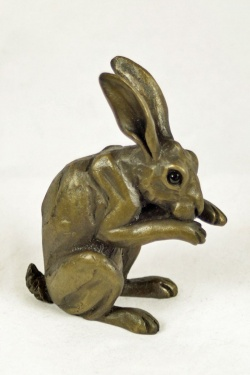 bronze resin Washing Hare-HARE-033