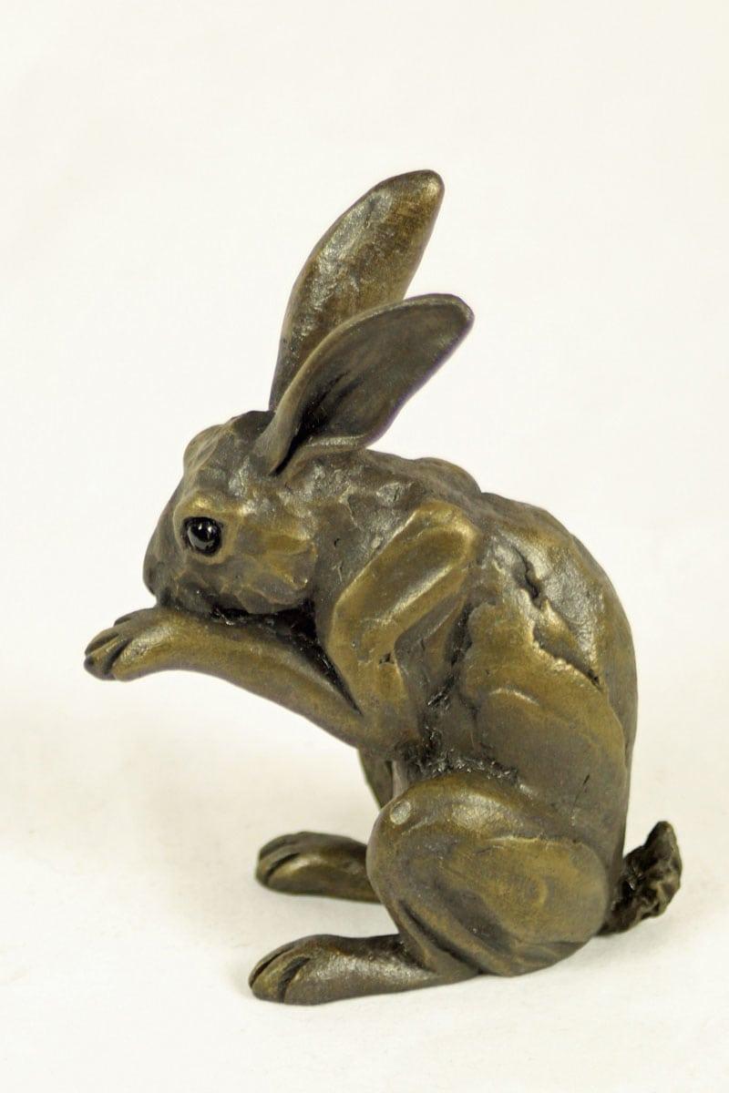 bronze resin Washing Hare-HARE-033