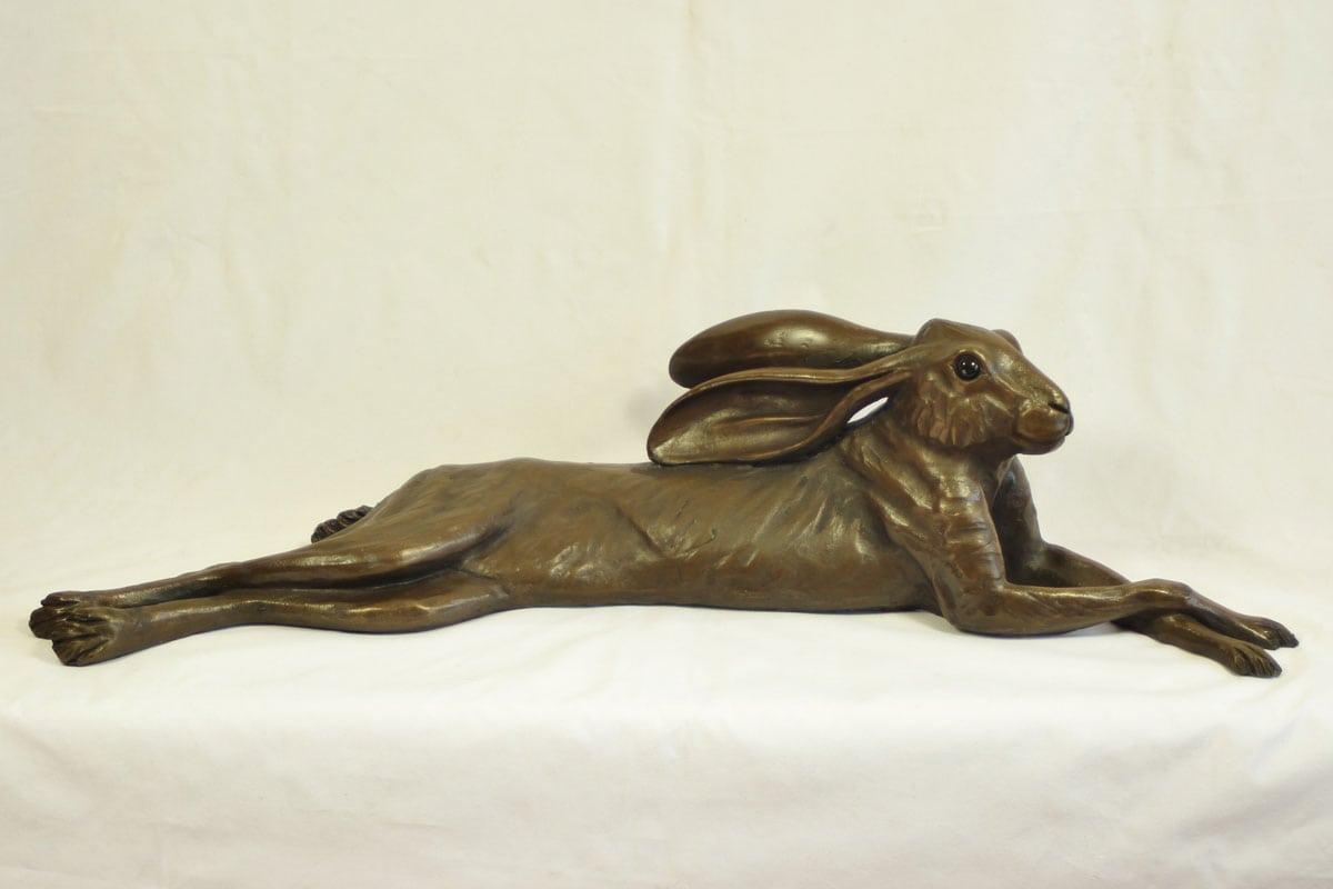 resin bronze Long Hare
