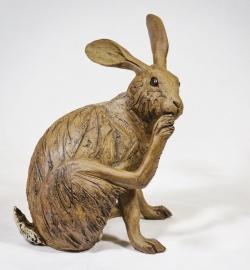 Brown Hare Washing Foot