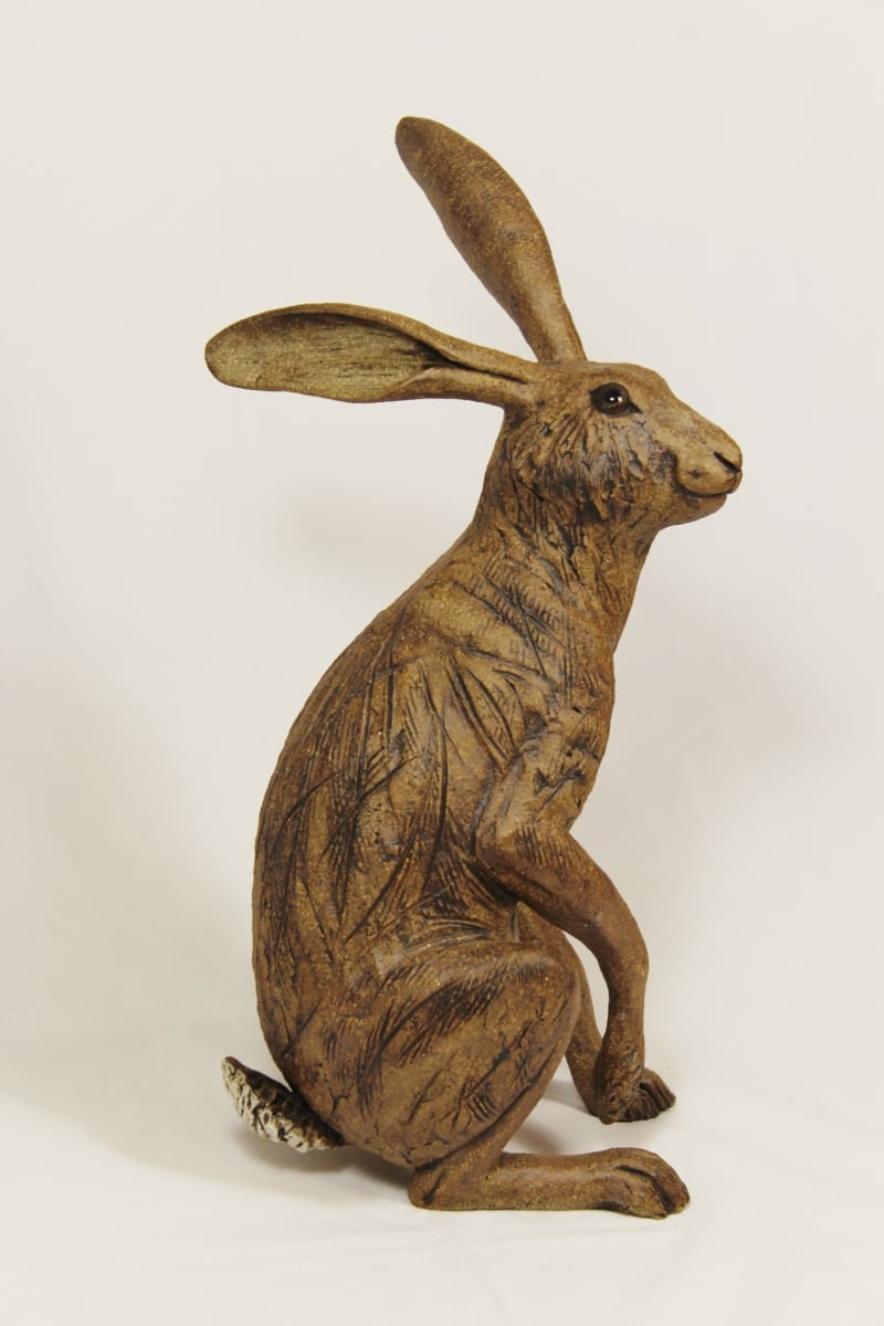 Ceramic Brown Hare, Listening