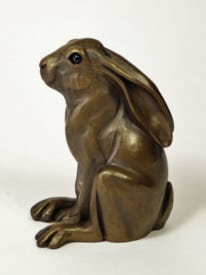 Art Deco medium Hare