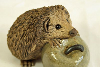 ceramic-hedgehog-button
